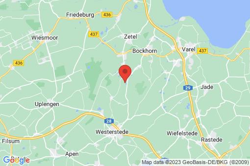 Karte Bockhorn Bredehorn