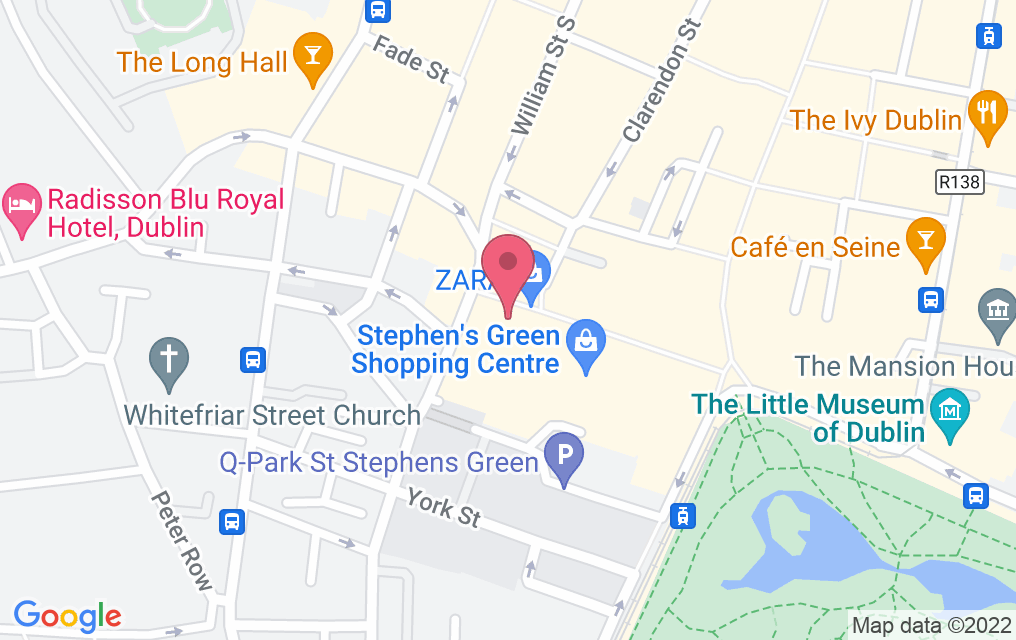 Get directions to Harrys on the Green