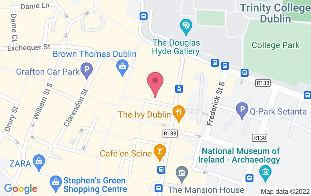 Get directions to The Duke