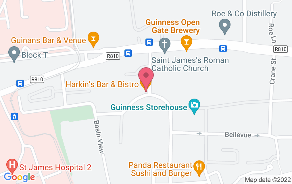 Get directions to Harkin's Bar