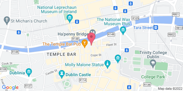 Get directions to The Quay's Temple Bar
