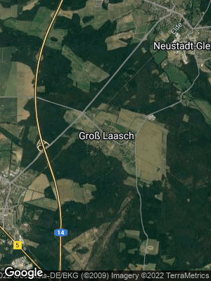 Google Map of Groß Laasch