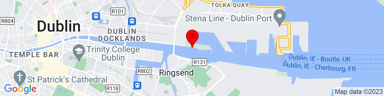 Google Map of 53.346091666666666, -6.222144444444445