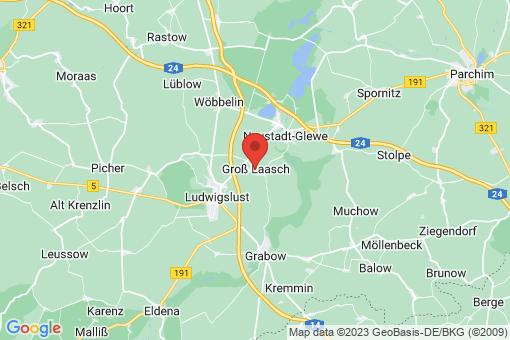 Karte Groß Laasch