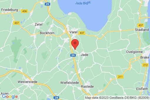 Karte Varel Varel