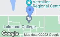 Map of Vermilion, AB