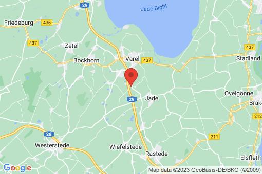 Karte Varel Neuenwege