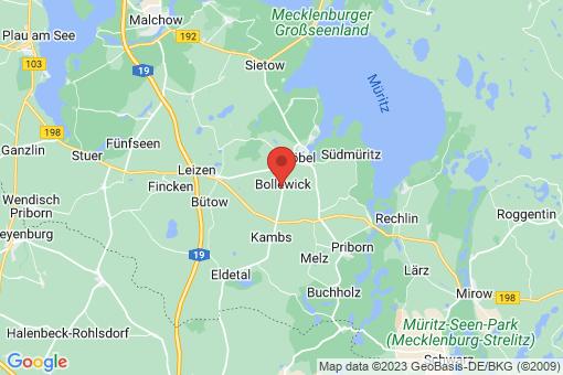 Karte Bollewick