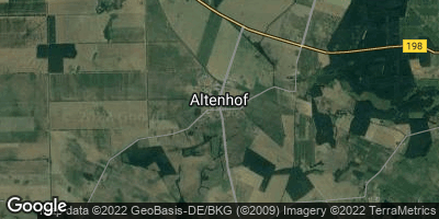 Google Map of Altenhof bei Röbel