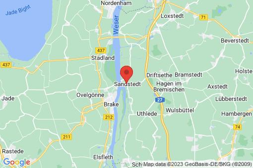 Karte Sandstedt
