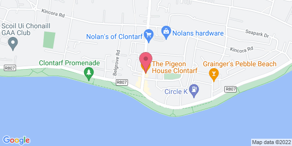 Get directions to Pigeon House Clontarf