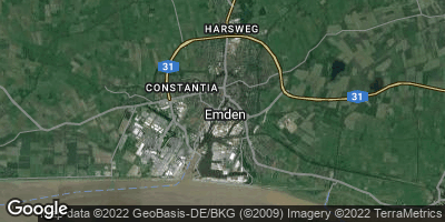 Google Map of Emden