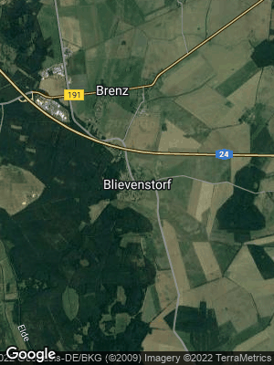 Google Map of Blievenstorf