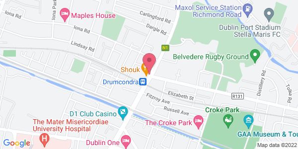 Get directions to Quinn's Drumcondra