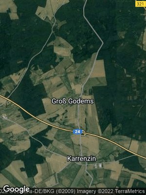 Google Map of Groß Godems
