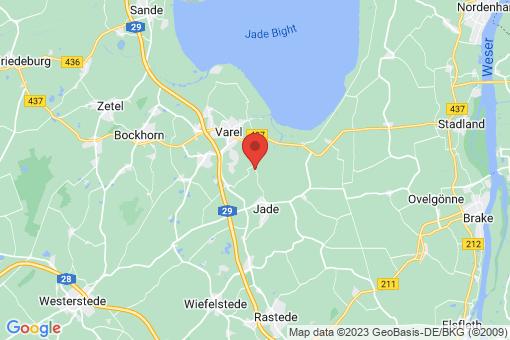 Karte Varel Hohelucht