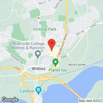 Map of wilko Widnes at Unit 12, Widnes,  WA8 7TN