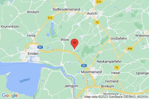 Karte Ihlow Simonswolde