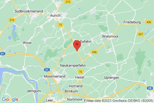 Karte Großefehn Ulbargen