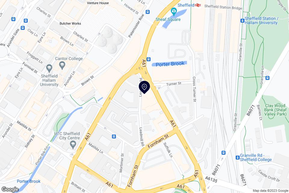 6 Leadmill Rd, Sheffield, S1 4SE map