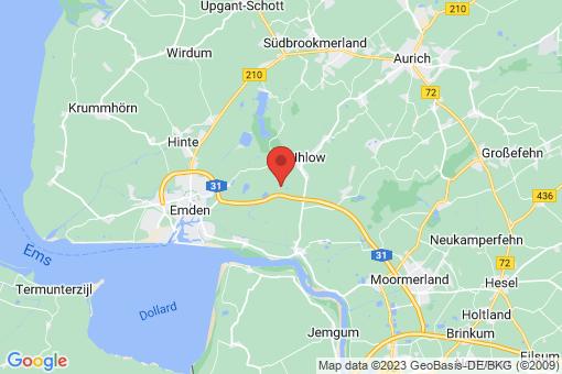 Karte Ihlow Riepsterhammrich