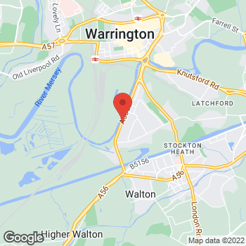 Map of Bargain Booze Plus Chester Road at 196 Chester Road (Chester Road), Warrington, Merseyside WA4 6AR