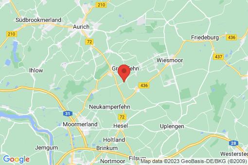 Karte Großefehn Bagband