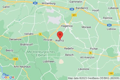 Karte Warlitz
