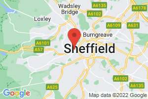 Sheffield Childrens Hospital NHS Foundation Trust - Illingworth Library on the map