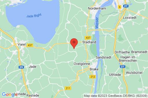 Karte Stadland