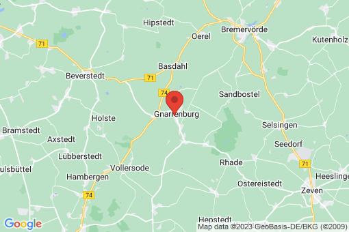 Karte Gnarrenburg