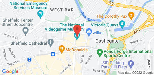 Directions to Fat Hippo Sheffield S3