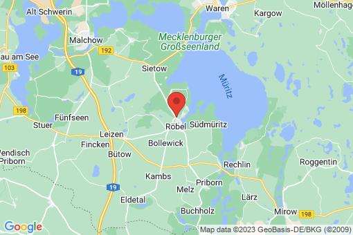 Karte Röbel/Müritz