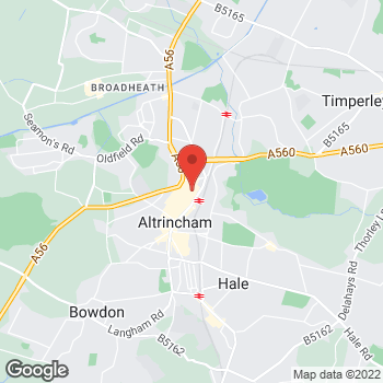 Map of wilko Altrincham at 13/17 George Street, Altrincham,  WA14 1RH