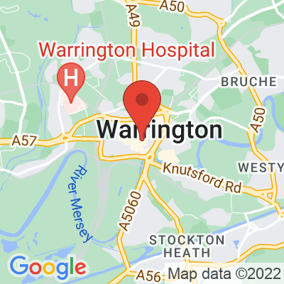 Map showing Two Brothers (Warrington)