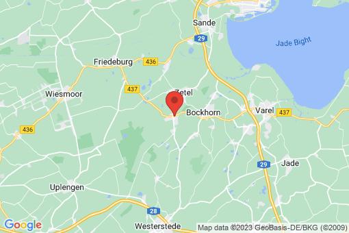 Karte Zetel Neuenburg