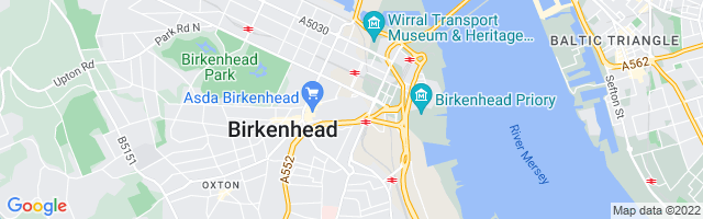 Map Of Birkenhead