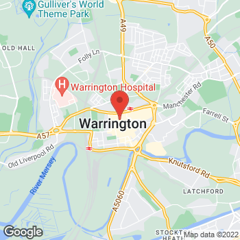 Map of wilko Warrington at 77 The Mall, Warrington,  WA1 1QE