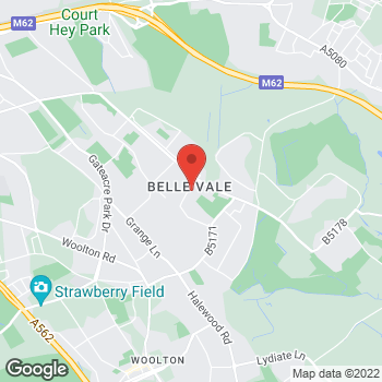 Map of wilko Bellevale at Store C, Liverpool,  L25 2RG
