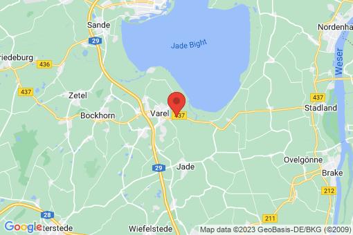 Karte Varel Hohenberge