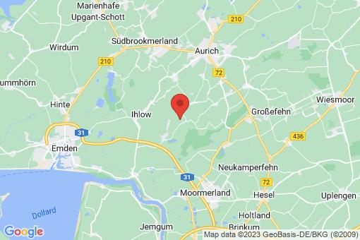 Karte Ihlow Ihlowerfehn