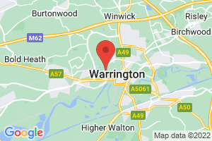 Warrington Knowledge & Evidence Service on the map