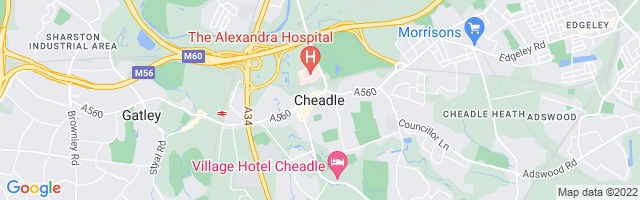 Map Of Cheadle