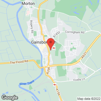 Map of wilko Gainsborough at Units 11/12, Gainsborough,  DN21 2NA