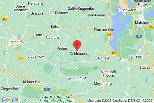 Karte Karbow-Vietlübbe