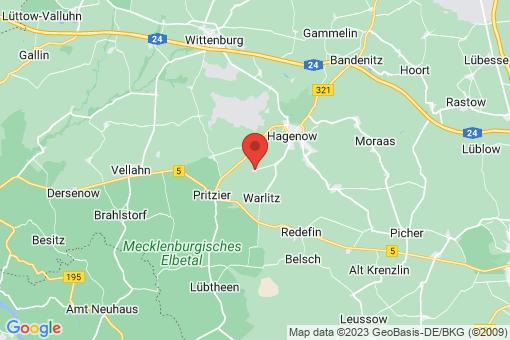 Karte Pätow