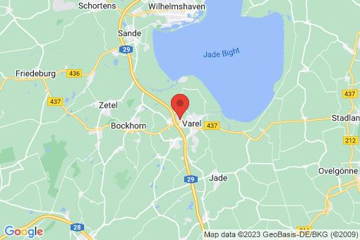 Karte Varel Langendamm