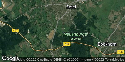 Google Map of Zetel
