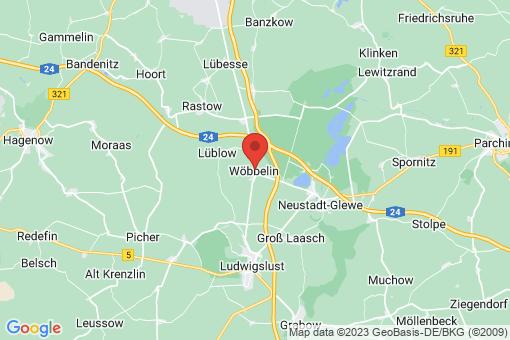 Karte Wöbbelin