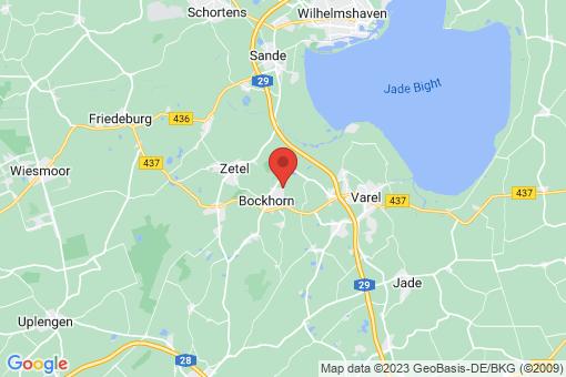 Karte Bockhorn Kranenkamp